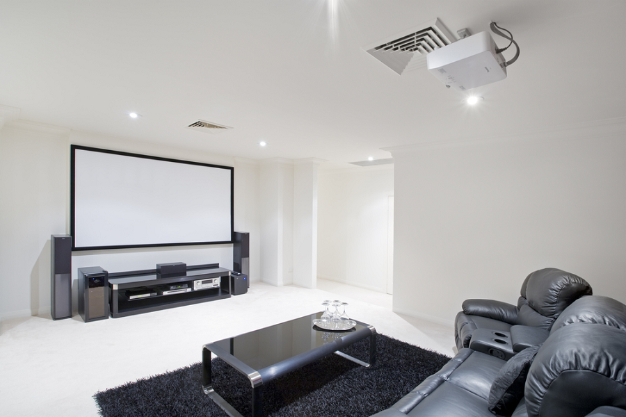 How To Set Up A Home Theater System With Projector Top