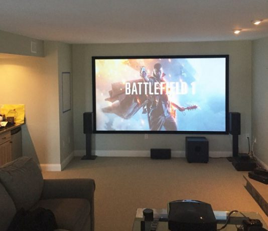 xbox one with projector