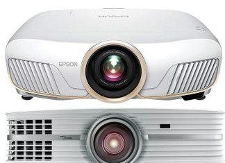 comparison of Epson 5050UB vs Optoma UHD60