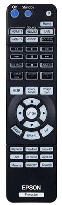Epson Home Cinema 3200 remote control
