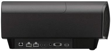 Sony VPL-VW715ES backside